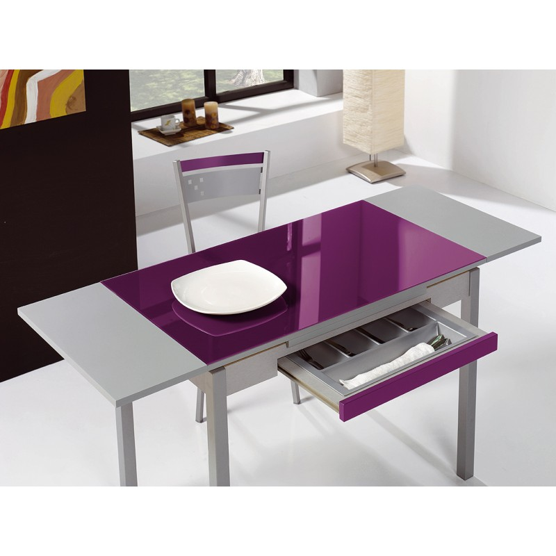 Pack mesa de cocina extensible y 4 sillas mod a for Conjunto de mesa y sillas de salon