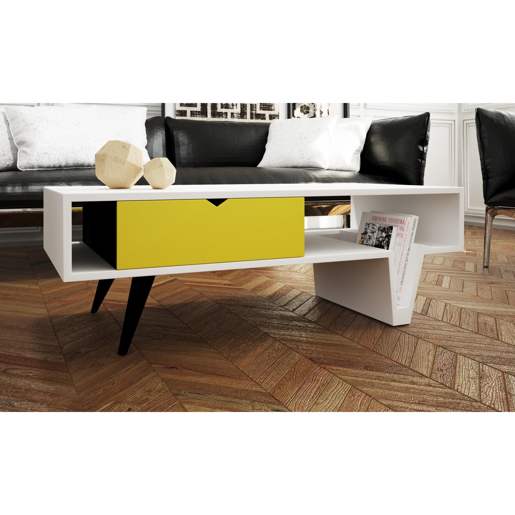 mesa de centro diseo moderno rolling