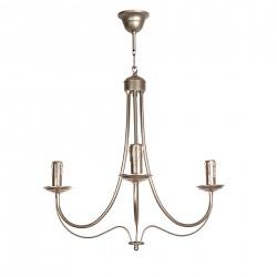 Lámpara Amon 3 velas plata