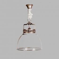 Lámpara de techo colgante vintage cristal Baelista