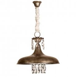 Lámpara de techo modelo Bragui Plata Vieja