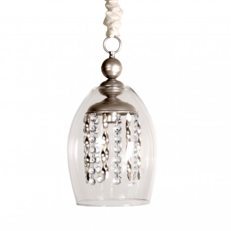 Lámpara de techo modelo Diana Plata