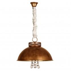 Lámpara de techo colgante semicírculo Gerión