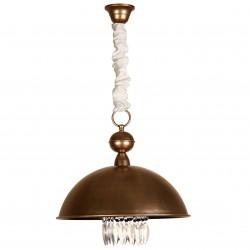 Lámpara de techo modelo Vael Cuero