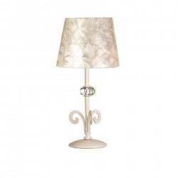 Lámpara de sobremesa clásica Vulcano 44x20 beige