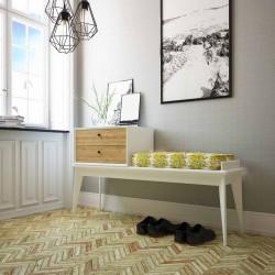 Mueble Recibidor Bajo Lacado Diseño Stonehenge