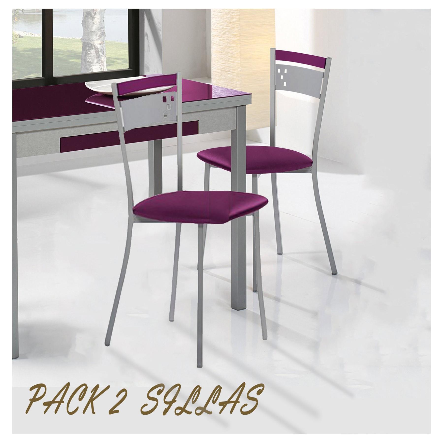 Pack de sillas de cocina modelo kind for Modelos de sillas de cocina