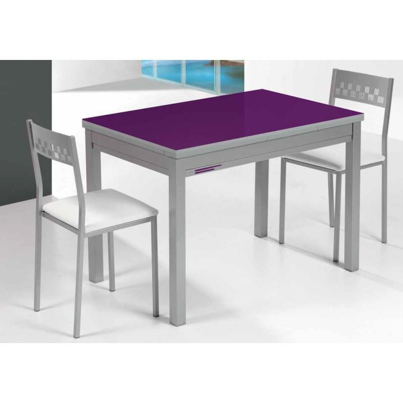 Conjunto de mesa extensible y sillas de cocina comedor - Mesas de cocina plegable ...