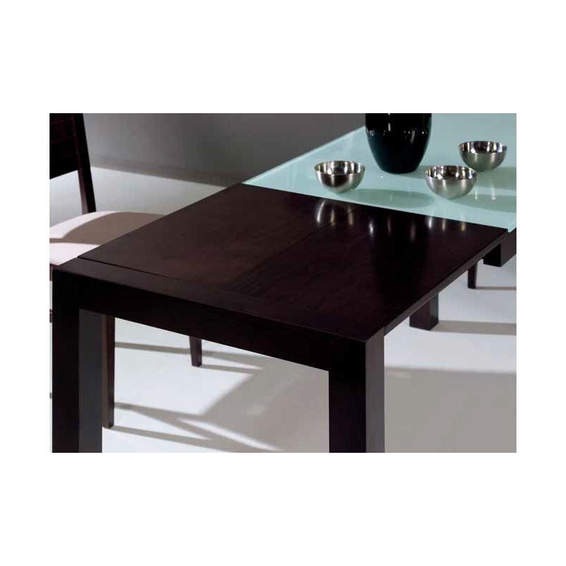 Conjunto de mesa y 4 sillas de cocina en madera modelo for Conjunto de sillas y mesas de cocina