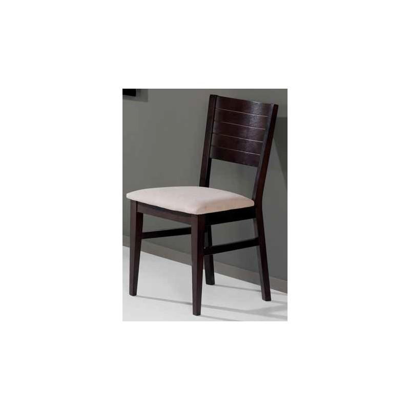 Conjunto de mesa y 4 sillas de cocina en madera modelo for Sillas cocina madera