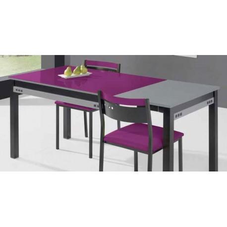 Mesa de cocina extensible modelo frambuesa - Mesa cocina con cajon ...