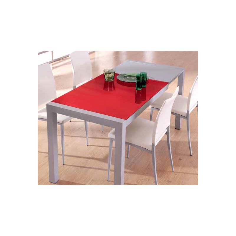 Conjunto de mesa extensible y sillas de cocina modelo mora for Mesas y sillas de cocina baratas online