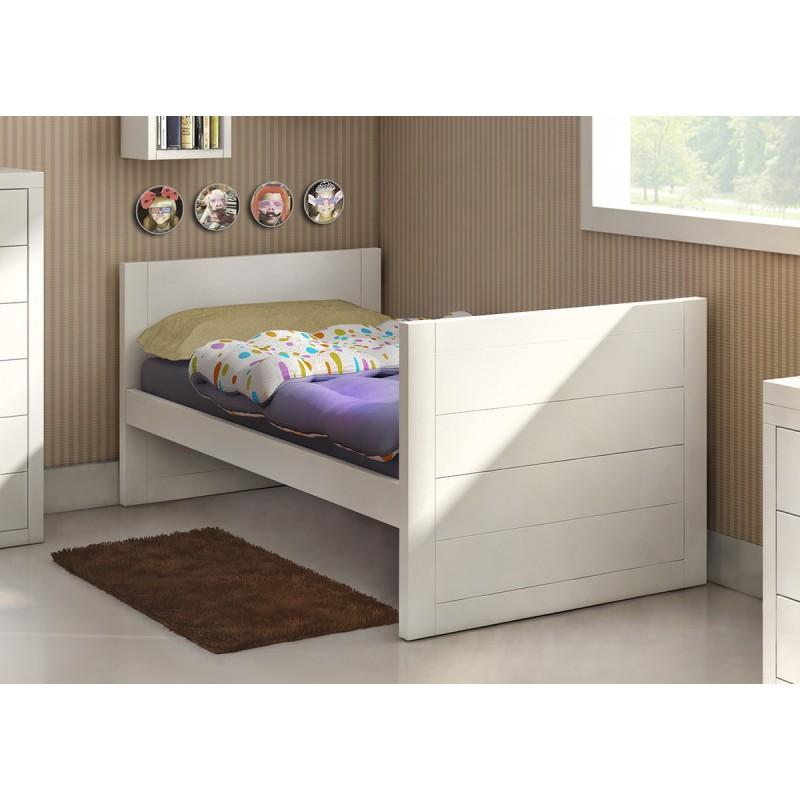 Cama juvenil modelo game duelas horizontales - Sofa cama juvenil ...