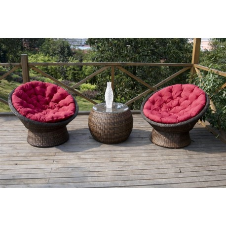pack mesa y sillones de jardn modelo umbra