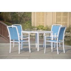 Conjunto de sillas y mesa para terraza o jardín modelo Daikiri