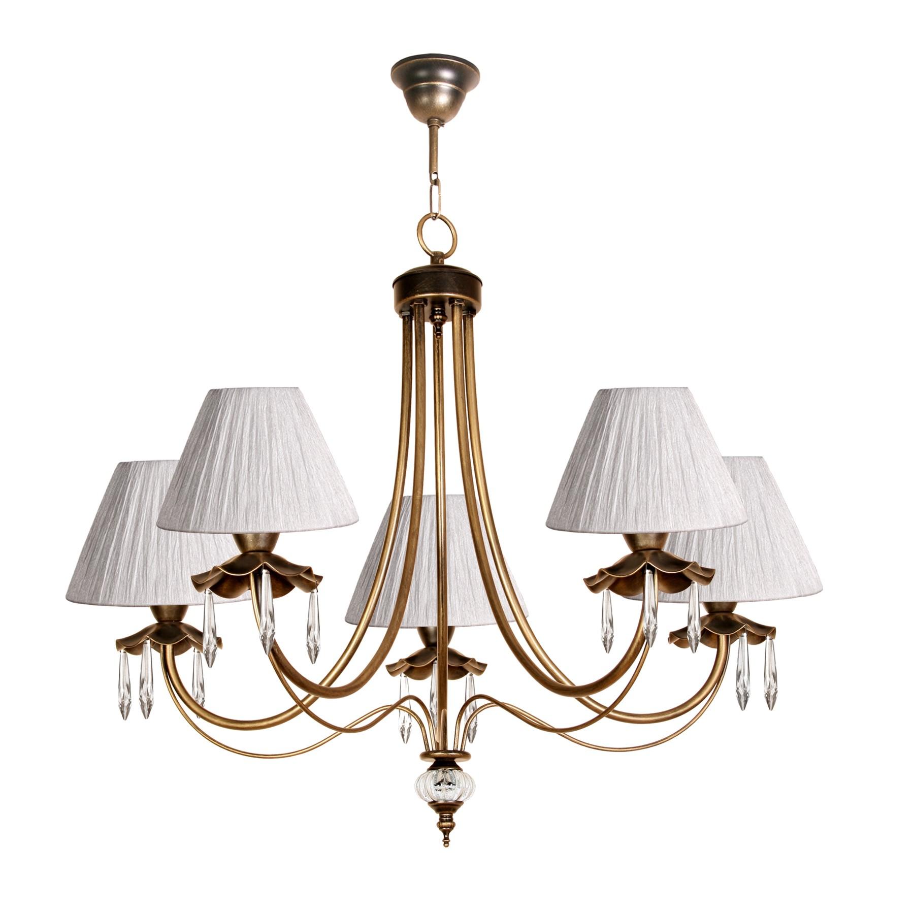 L mpara de techo cl sica de estilo rom ntico modelo nut for Modelos de lamparas