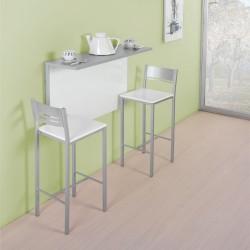 Mesa de pared abatible para cocina modelo E