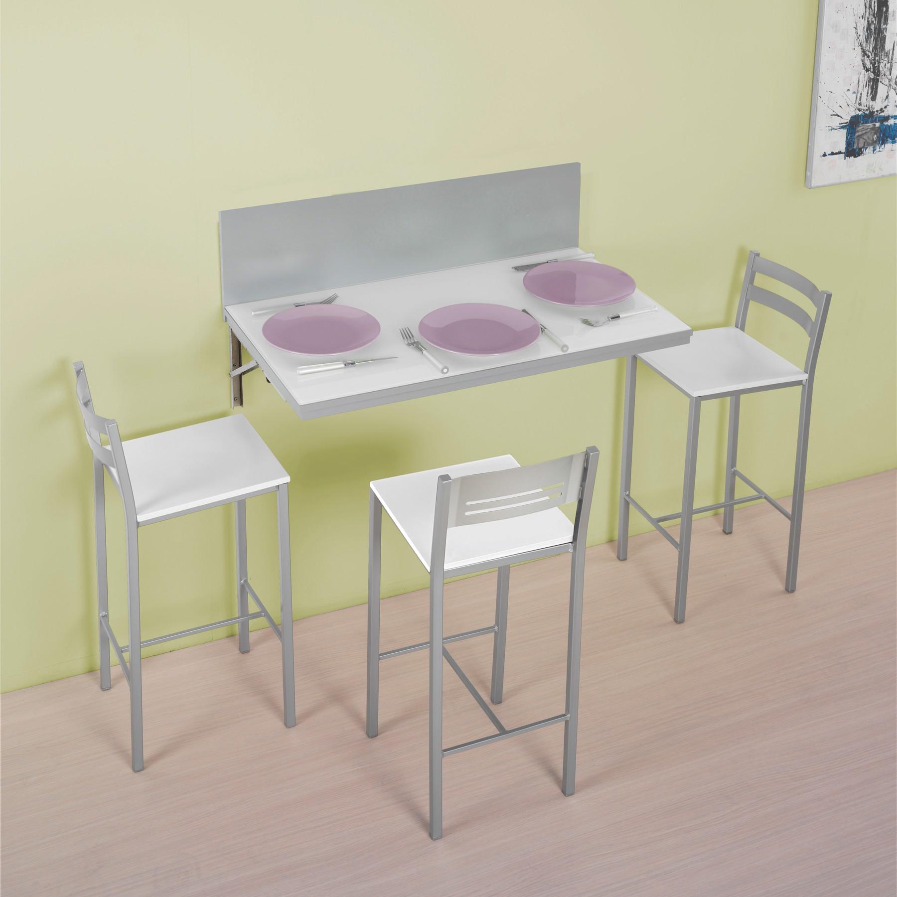 Mesa de pared para cocina modelo e - Modelos de mesas de cocina ...