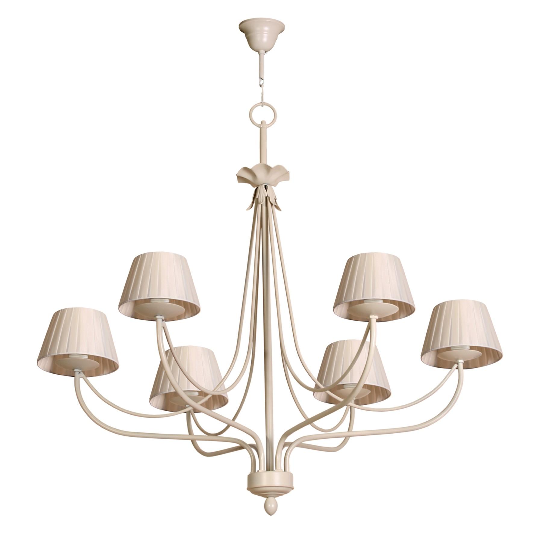 L mpara de techo cl sica modelo min de seis l mparas for Modelos de lamparas