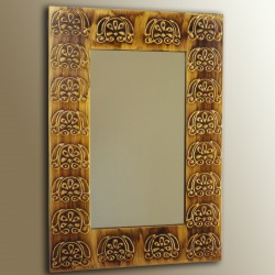 Espejo artesanal hecho a mano modelo BAYUDA