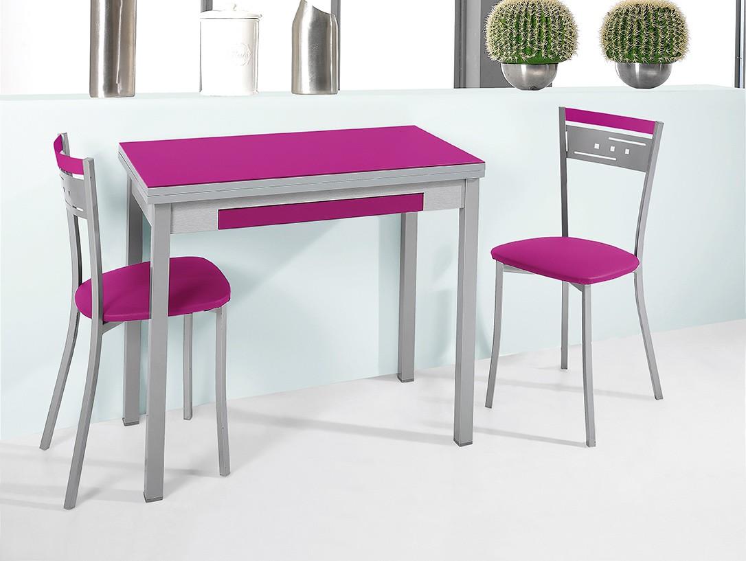 Taburetes cocina amazing taburetes de cocina regulables for Juego de mesa y sillas para cocina