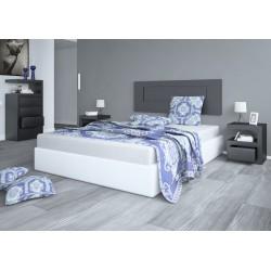 Conjunto muebles dormitorio lacados modelo 9E6A