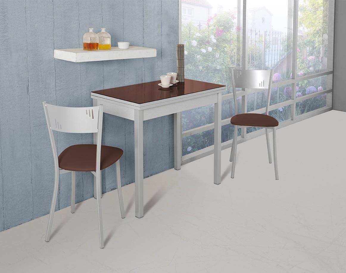 Mesa de cocina apertura tipo libro modelo D