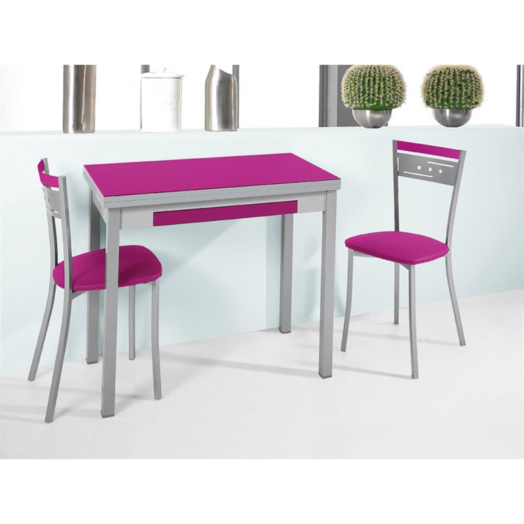 Conjunto de mesa libro y sillas de cocina modelo sunny for Sillas de cocina modernas