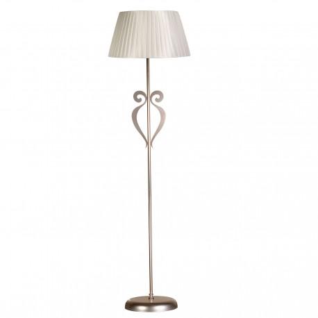 Lámpara de suelo modelo Asar Plata
