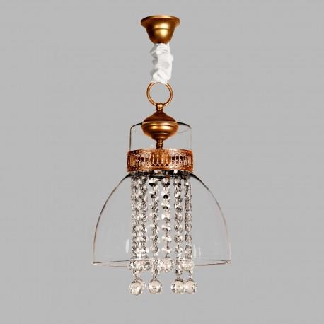 Lámpara de techo modelo Adaeguina oro viejo