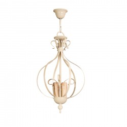 Lámpara de techo modelo Baco 49 x 28 beige