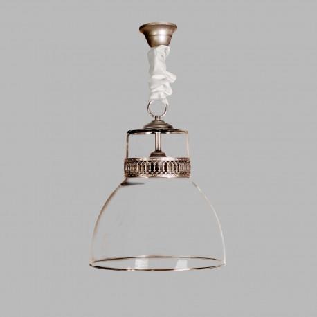 Lámpara de techo modelo Baelista plata
