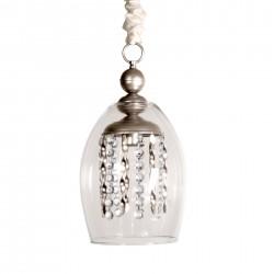 Lámpara de techo colgante cristal Diana