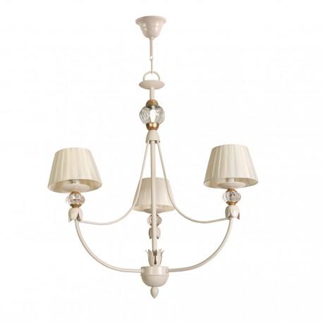 Lámpara de techo modelo Epona 3 brazos beig