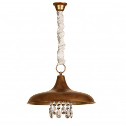 Lámpara de techo modelo Freyja oro viejo