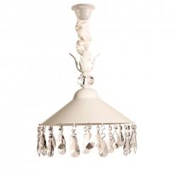 Lámpara de techo tulipa estilo rústico Hades