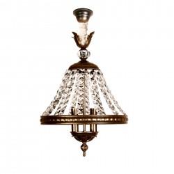 Lámpara de techo cristal antigua Juno