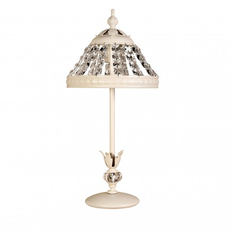 Lámpara de sobremesa modelo Juno beige
