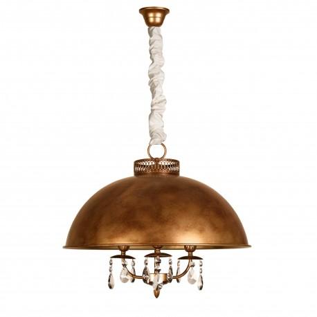 Lámpara de techo modelo Lida oro viejo