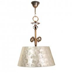 Lámpara de techo colgante Vulcano V2 1 pantalla bronce
