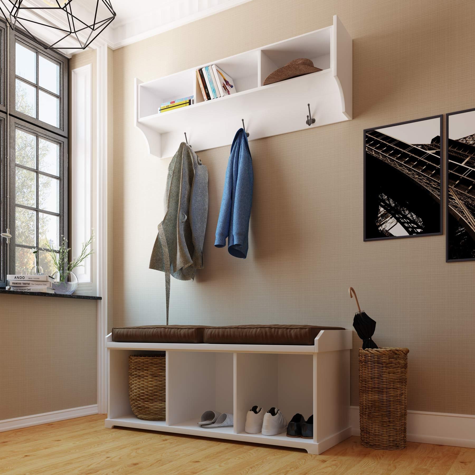 Mueble recibidor lacado compuesto lite - Mueble de recibidor ...