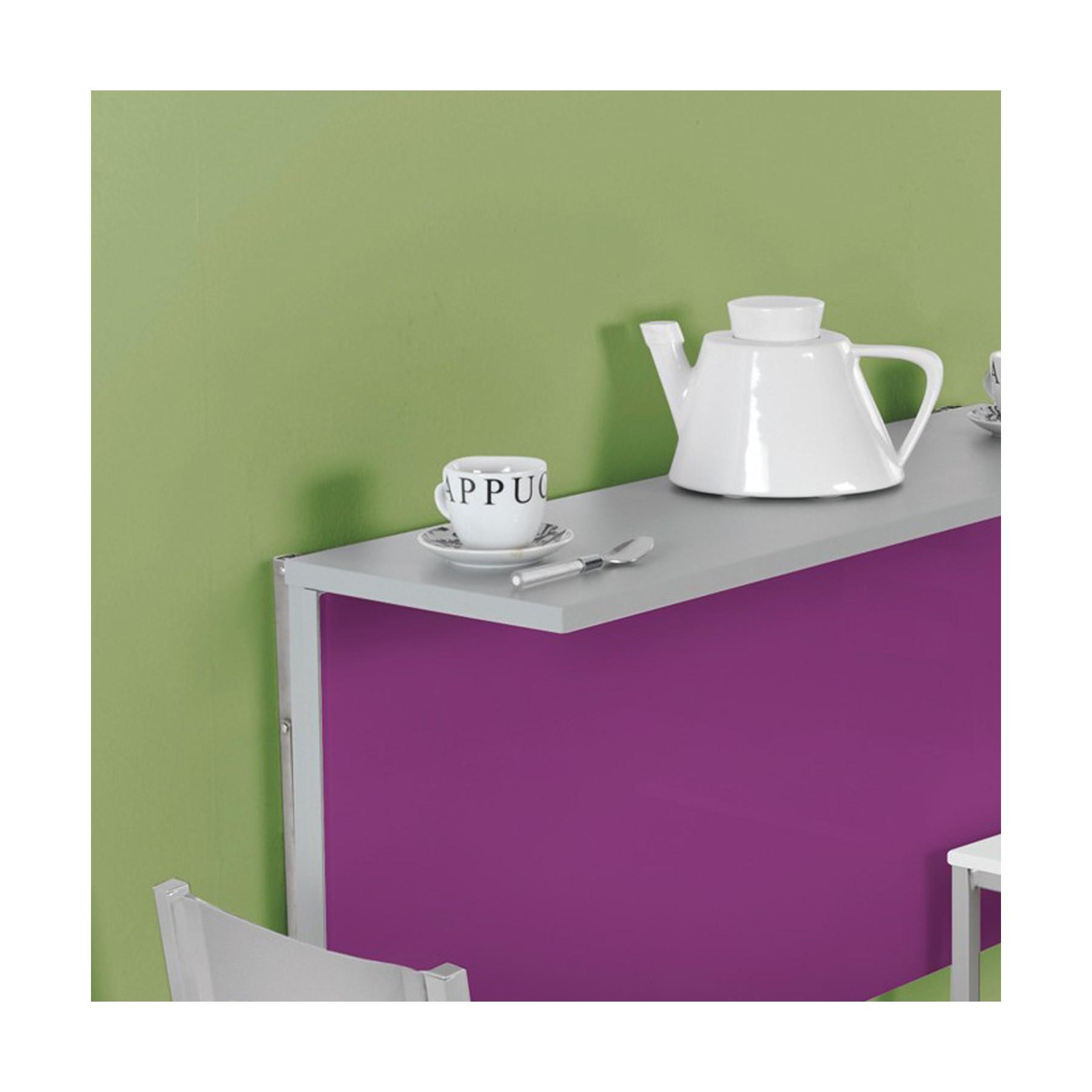Mesa de cocina plegable de pared con 2 posiciones DKG