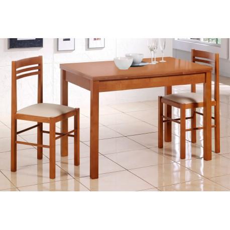 Conjunto pack de mesa y sillas de cocina en madera económico modelo ...
