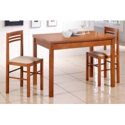 Mesa de cocina extensible en madera modelo Naranja