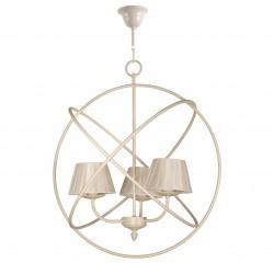 Colección Universe lámpara de techo esfera 3 bombillas blanco