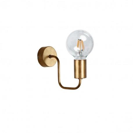 Lámpara aplique de pared vintage modelo Medievo Oro viejo