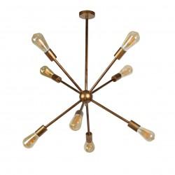 Lámpara de techo diseño industrial modelo Realta