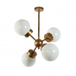 Lámpara de techo colgante metal modelo Visums