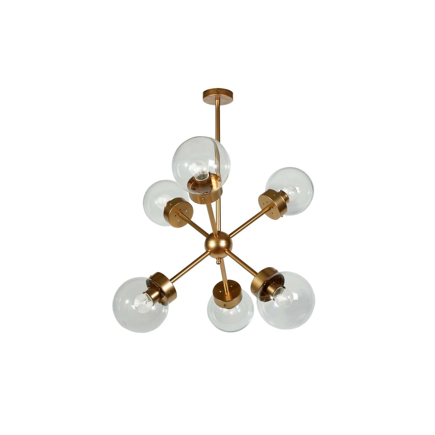 L mpara de techo colgante metal modelo visums for Modelos de lamparas
