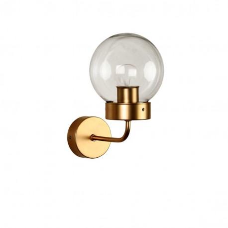 Lámpara aplique pared diseño clásico modelo Vecchio Oro